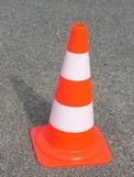 cône signalisation