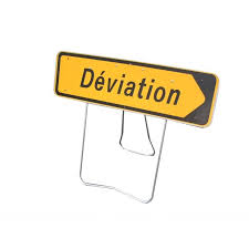 panneau kd22 déviation